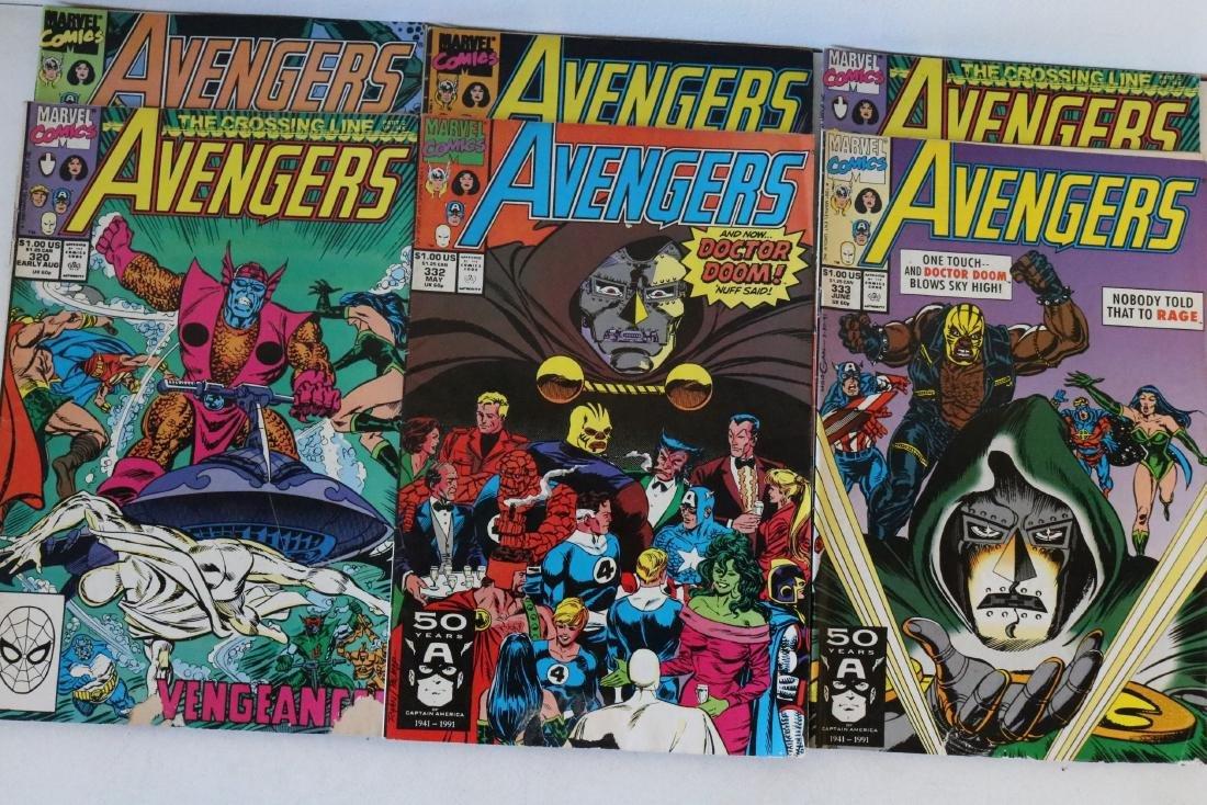 Avengers lot of 25 Marvel comics - 9