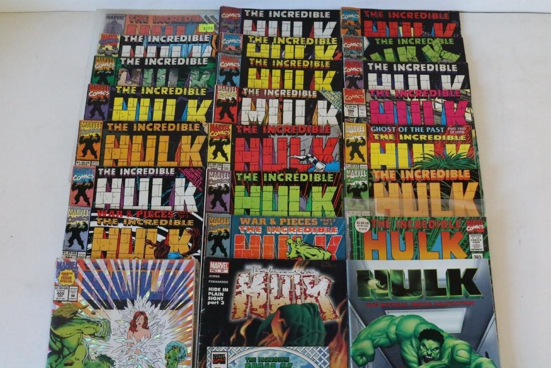 Incredible Hulk lot of 25 comics