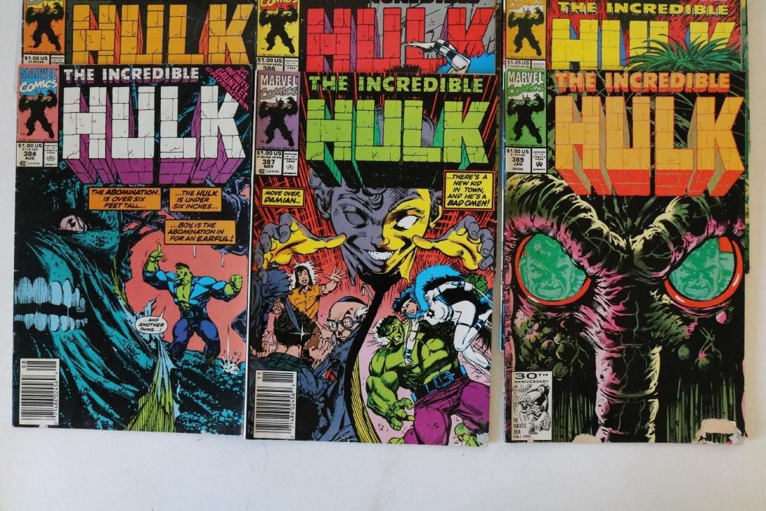 Incredible Hulk lot of 25 comics - 5