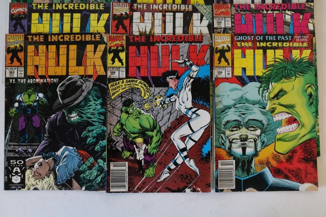 Incredible Hulk lot of 25 comics - 6