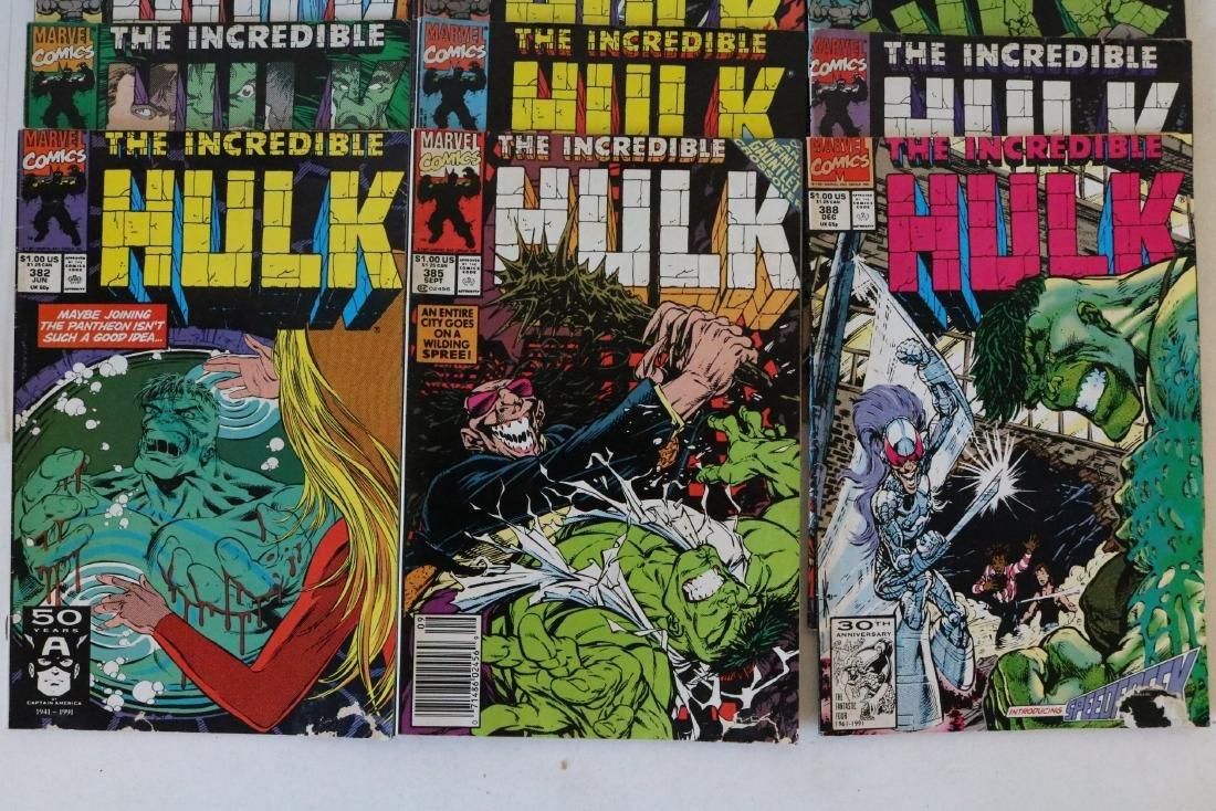 Incredible Hulk lot of 25 comics - 7