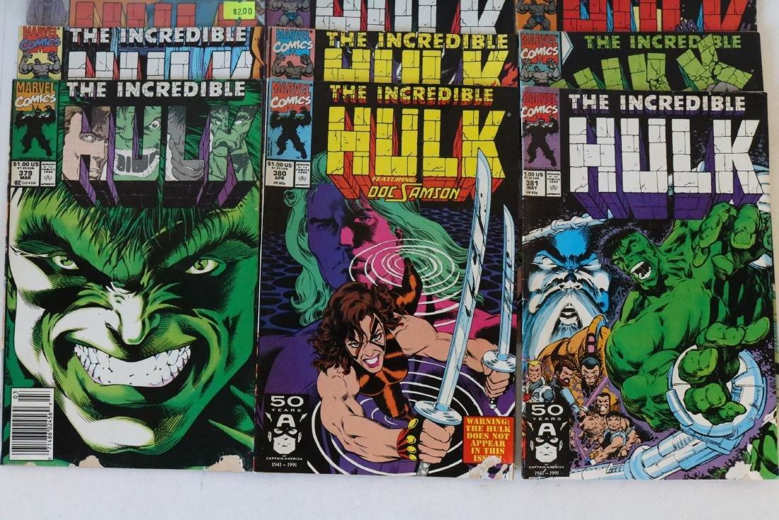 Incredible Hulk lot of 25 comics - 8