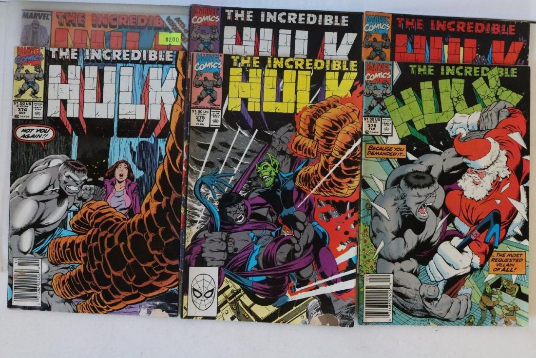 Incredible Hulk lot of 25 comics - 9