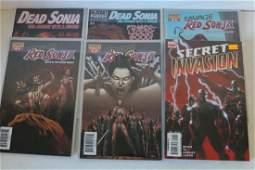 Lot of 13 comics Dead Sonja #1