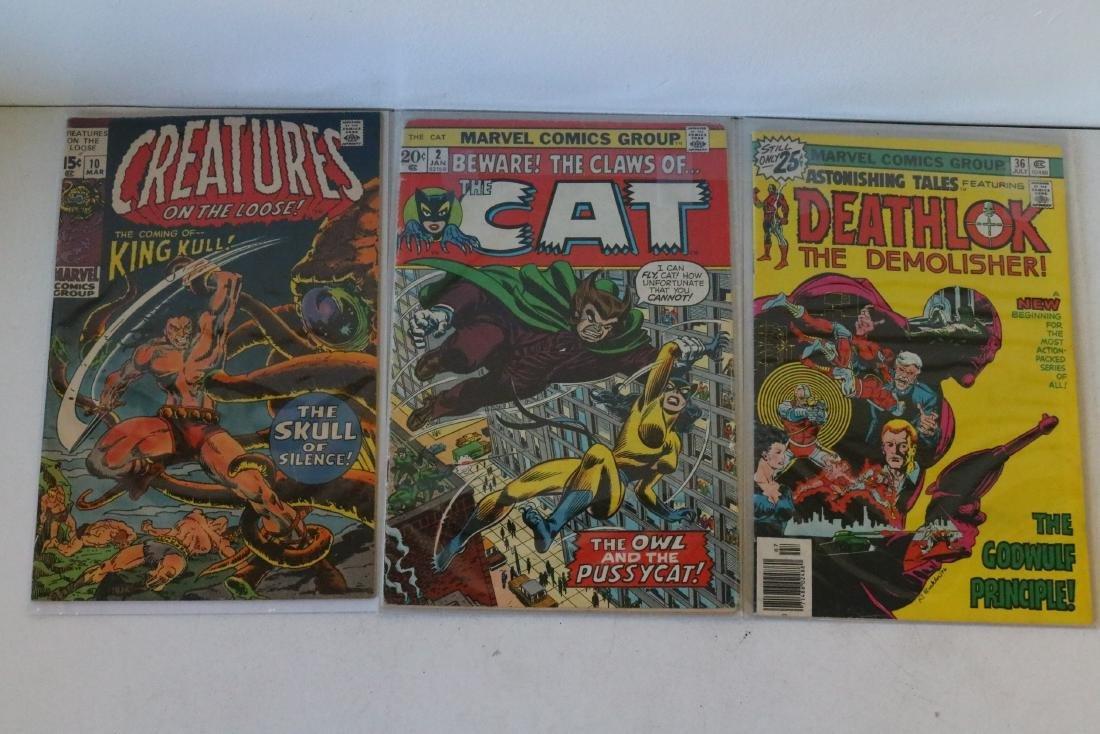 Lot of 3 comics