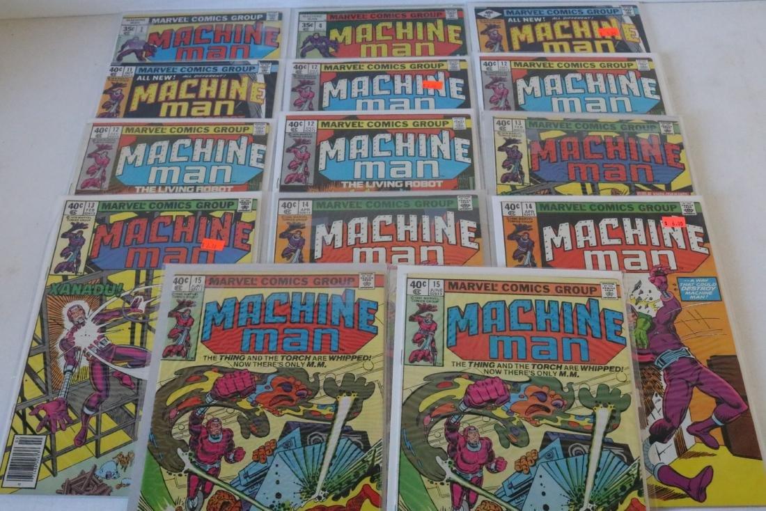 Machine Man #1 and higher