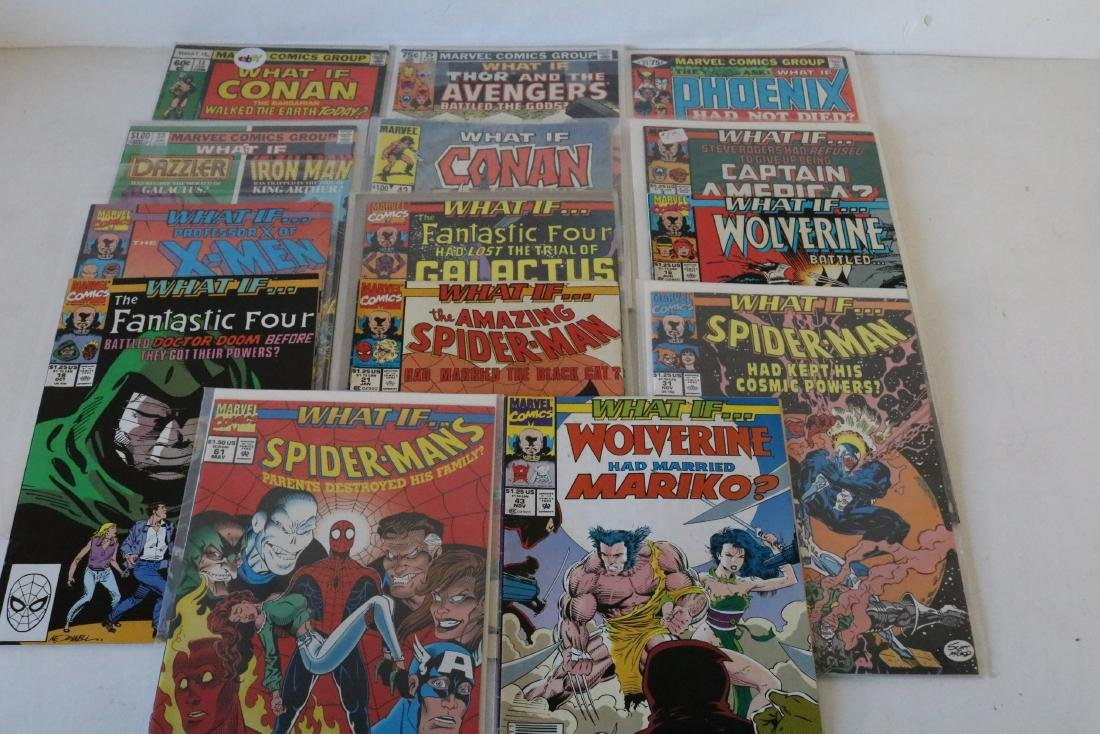 Lot of 14 Marvel What If comics