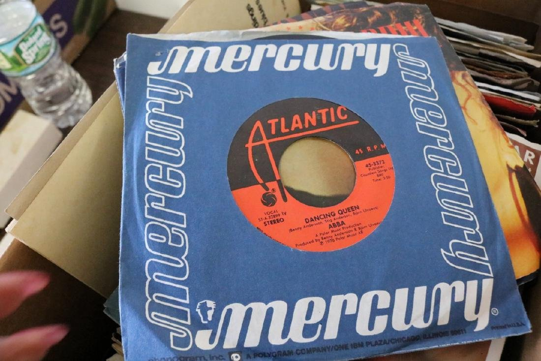 Lot of 45 Rock and Roll Records - 11