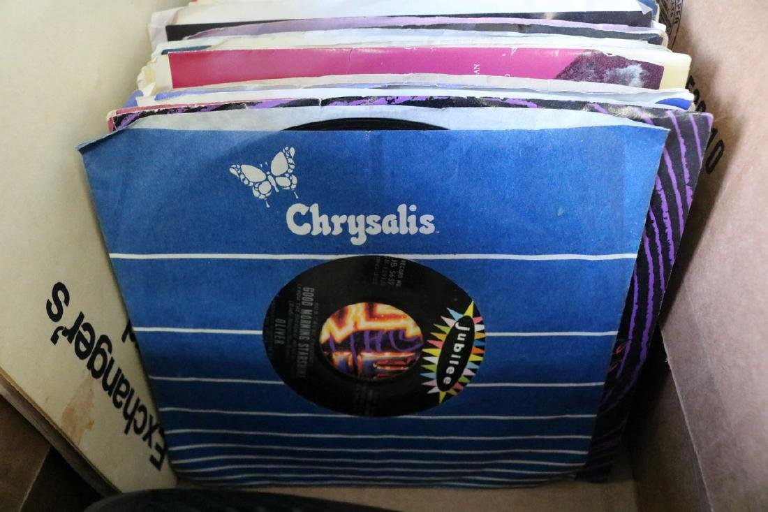 Lot of 45 Rock and Roll Records - 3