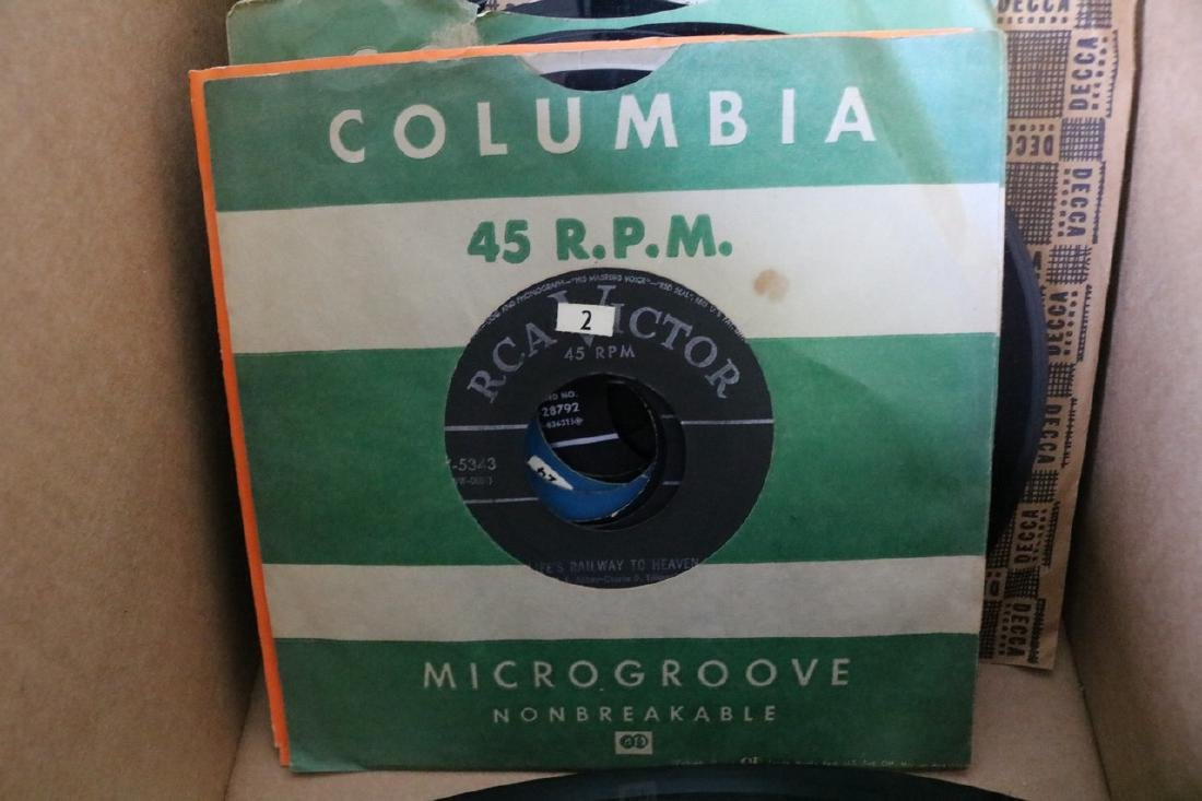 Lot of 45 Records - 7