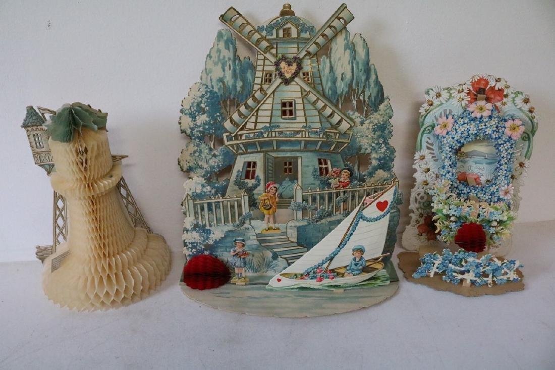 Lot of German Victorian Valentines