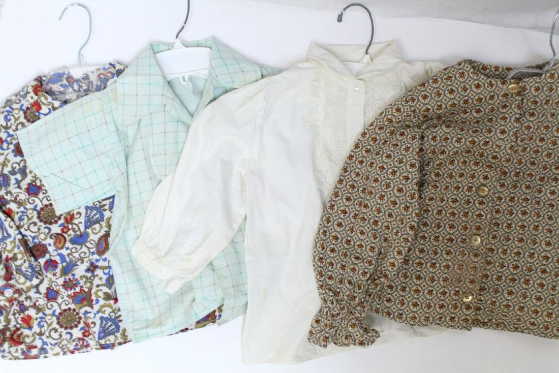 Vintage Lot of 4 1960s Children's Shirts