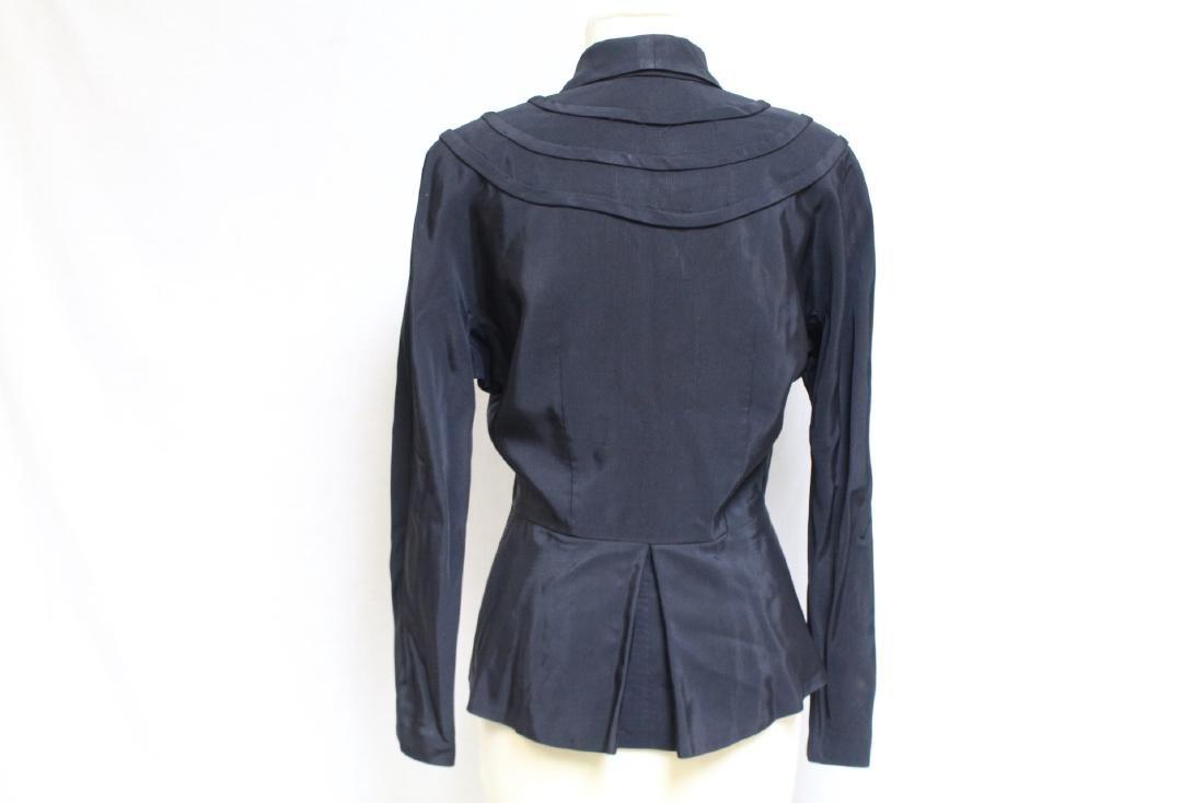 Vintage 1940s Black Tassel Jacket - 3
