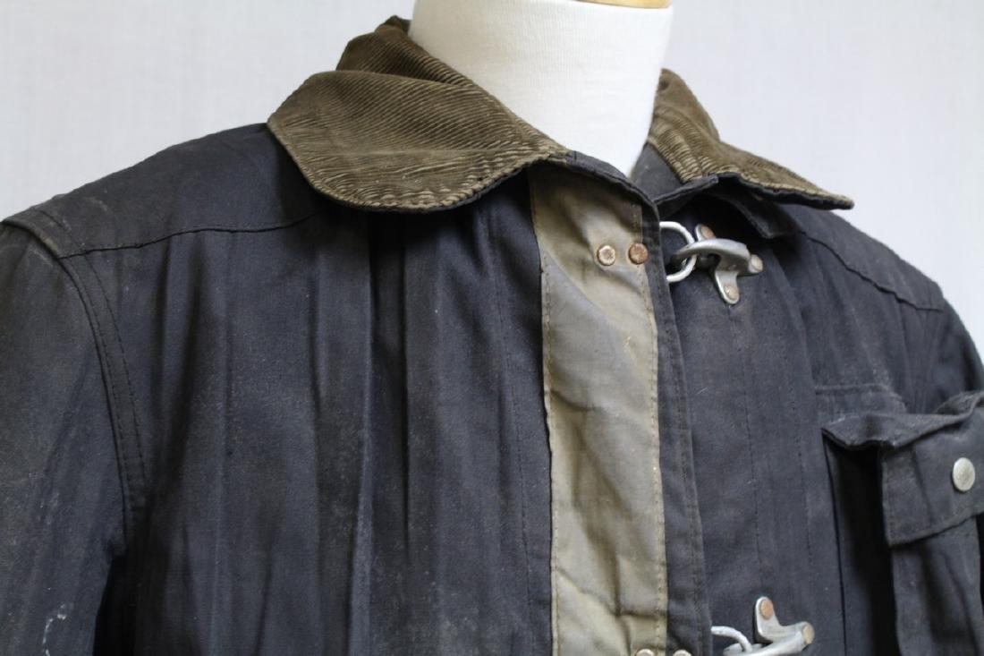 Vintage 1990s Black Fireman's Coat - 2
