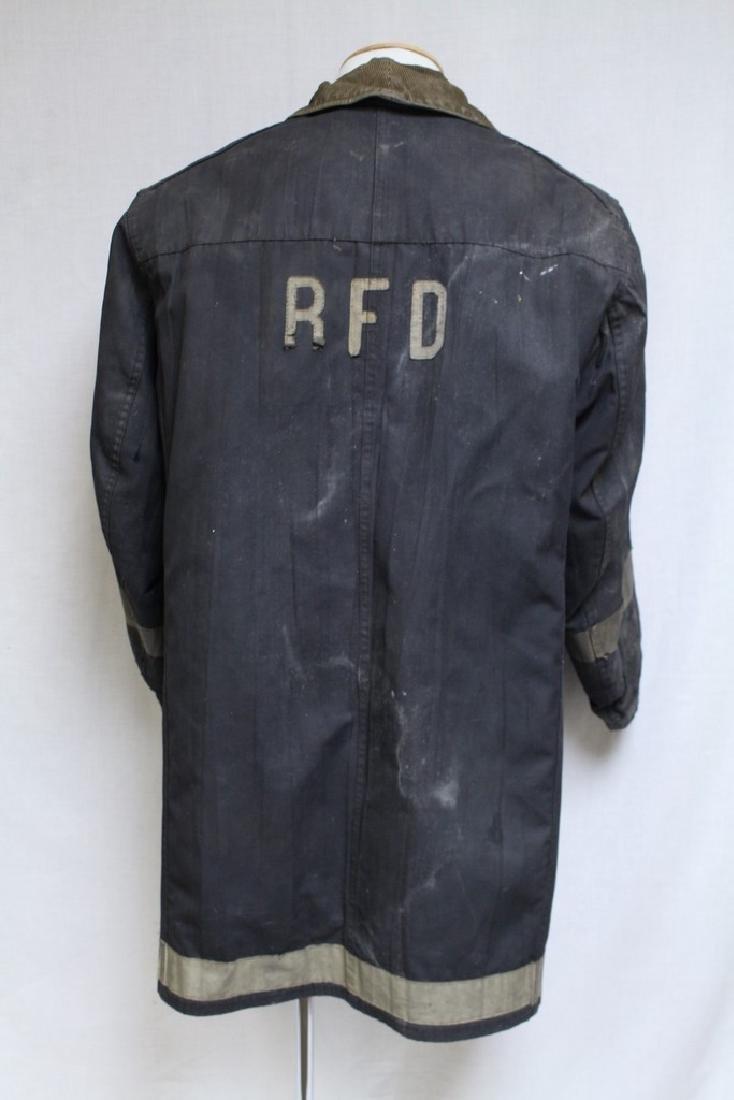 Vintage 1990s Black Fireman's Coat - 3