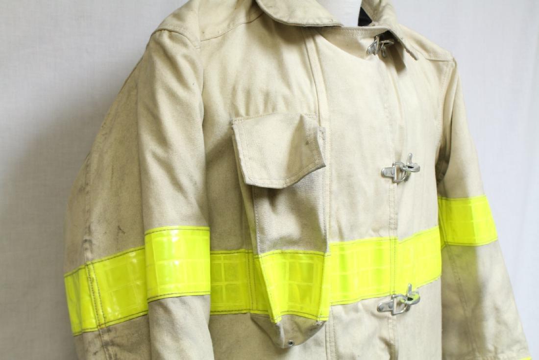Vintage 1990s White Fireman's Coat - 2