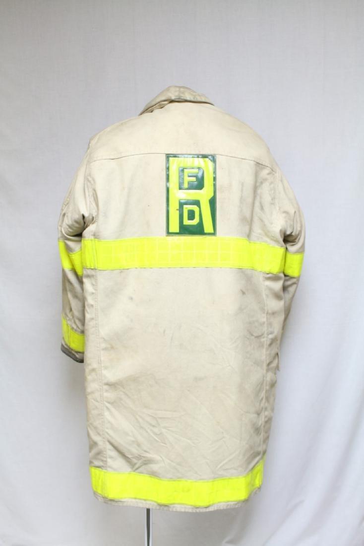 Vintage 1990s White Fireman's Coat - 3