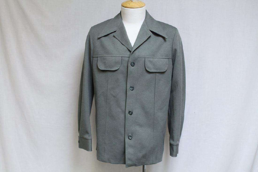 Vintage 1970s Men's Green Jacket