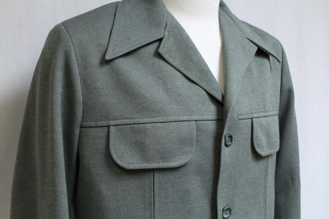Vintage 1970s Men's Green Jacket - 2
