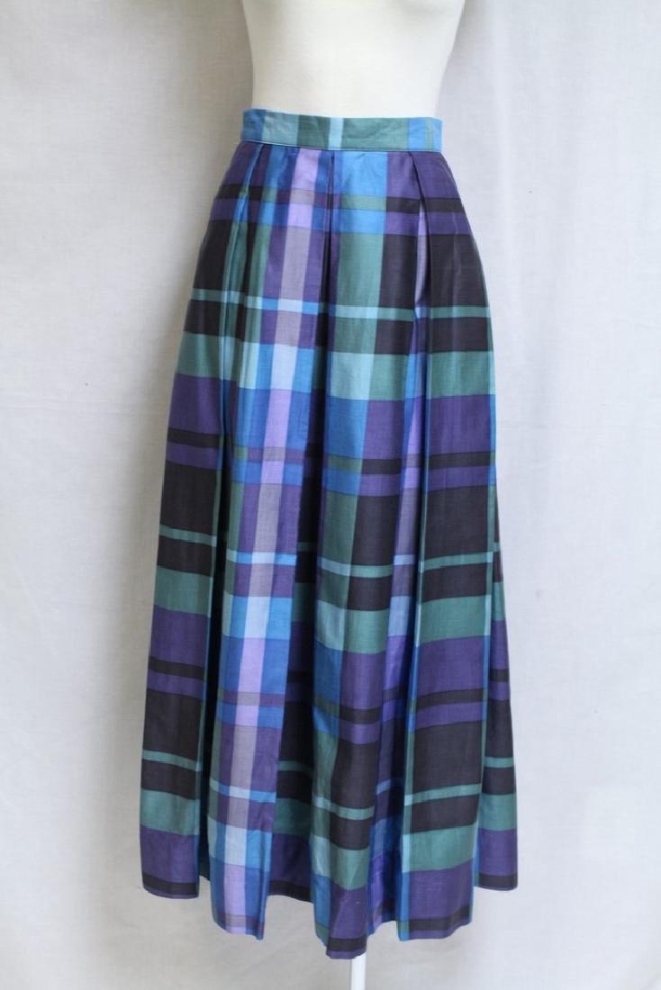 Vintage 1970s Bill Atkinson Plaid Skirt