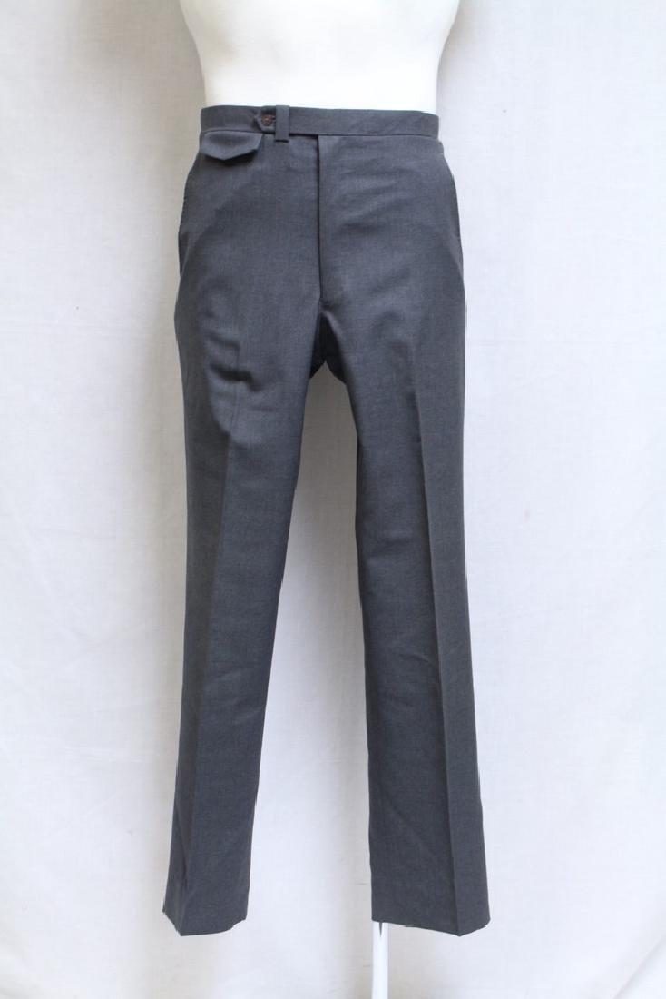 Vintage 1960s Men's Grey Trousers