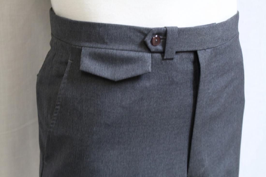 Vintage 1960s Men's Grey Trousers - 2