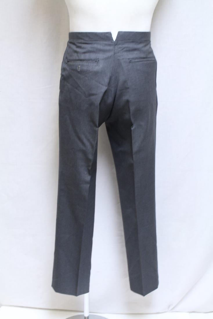 Vintage 1960s Men's Grey Trousers - 3