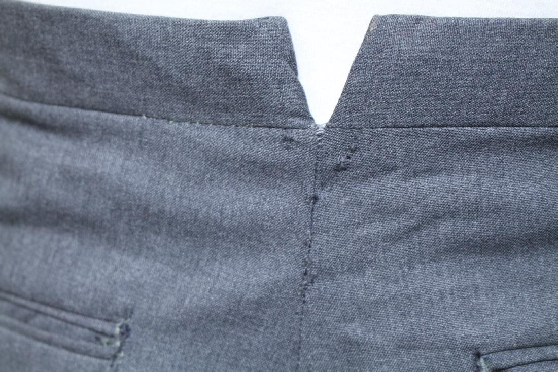 Vintage 1960s Men's Grey Trousers - 4