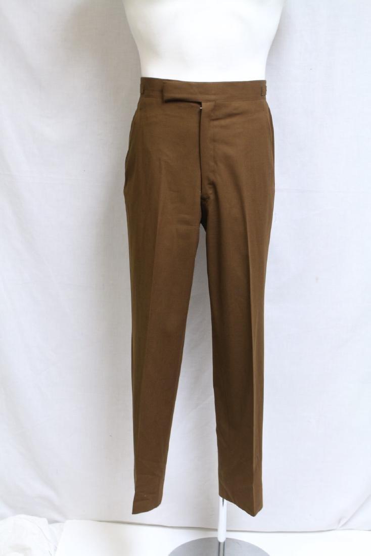 Vintage 1960s Men's Brown Trousers