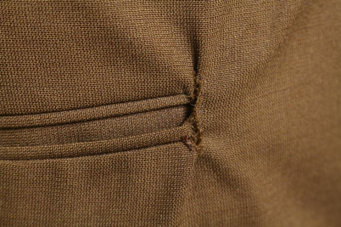 Vintage 1960s Men's Brown Trousers - 3