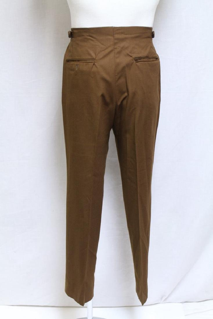 Vintage 1960s Men's Brown Trousers - 6