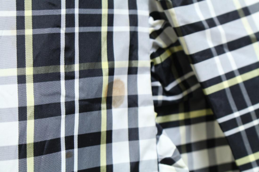 Vintage 1960s Plaid Taffeta Maxi Wrap Skirt - 4
