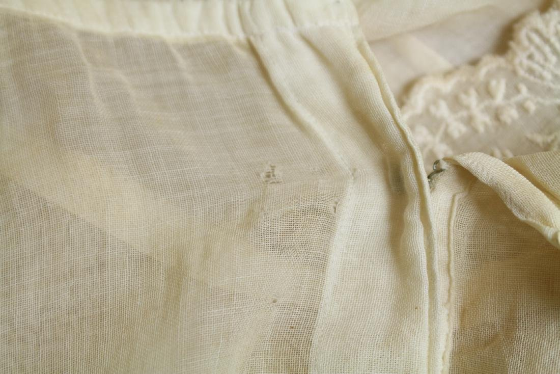 Vintage 1920s Girls Embroidered Dress - 5