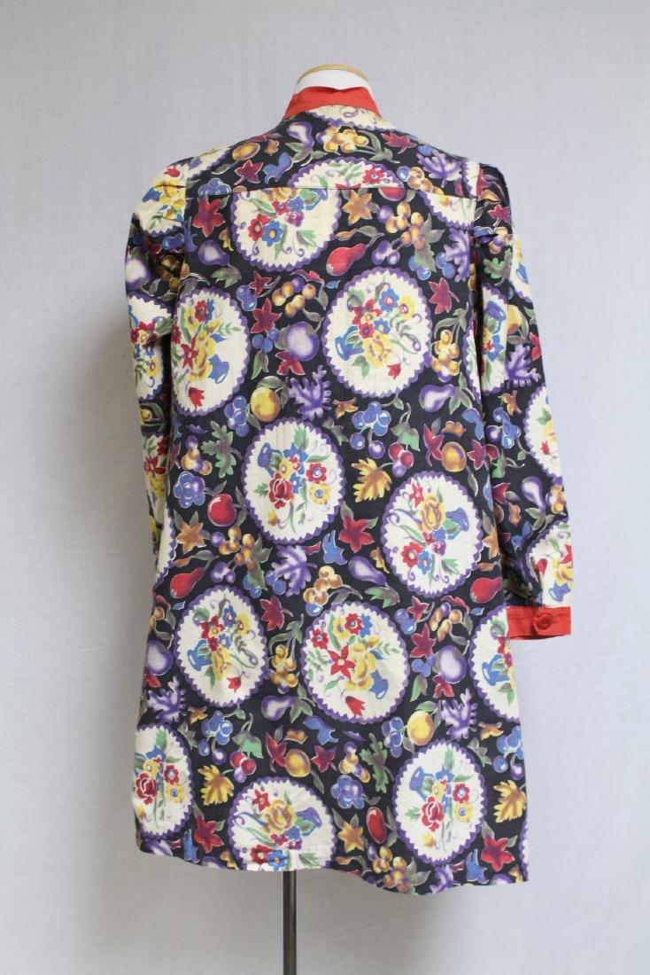 Vintage 1930s Printed Cotton Jacket - 6