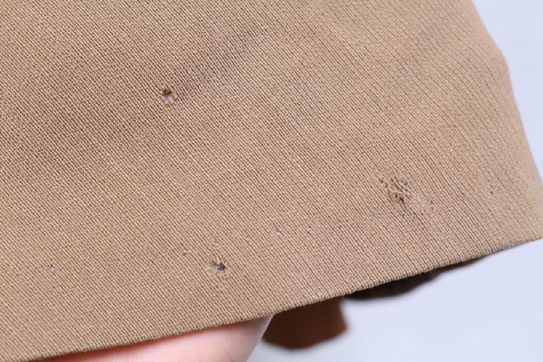Vintage 1940s Beige Wool Coat - 4