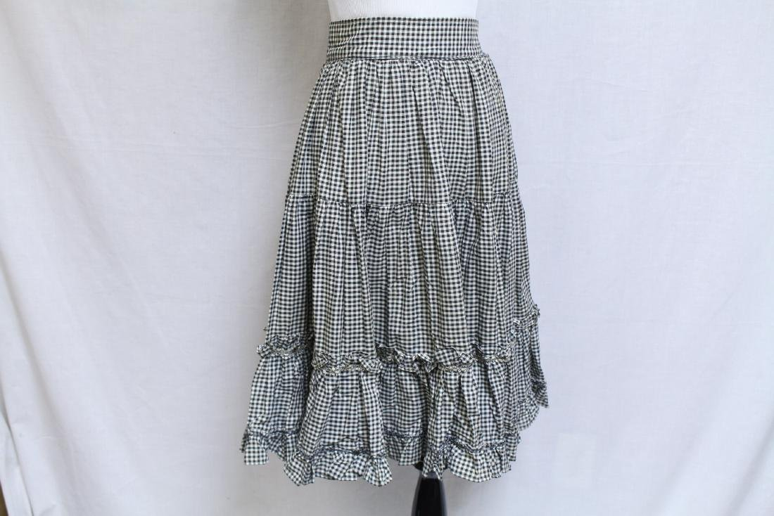 Vintage Lot of 2 1960s Square Dance Skirts - 2