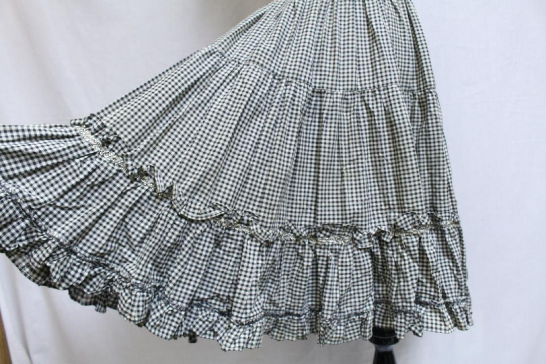 Vintage Lot of 2 1960s Square Dance Skirts - 3