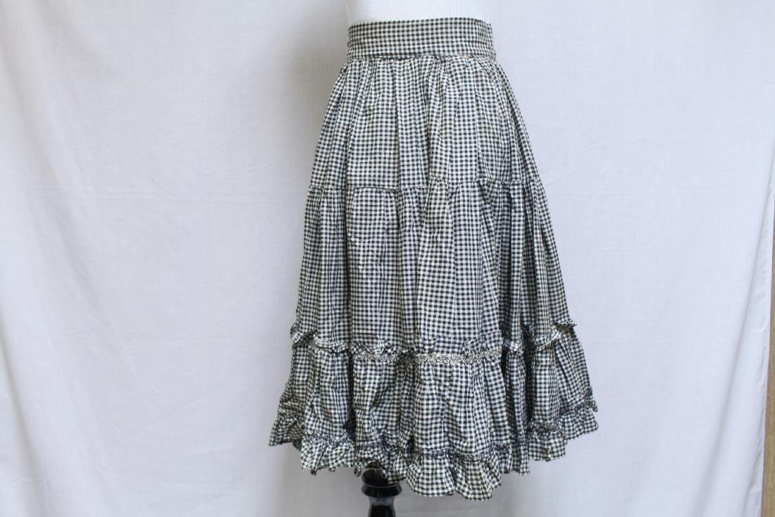 Vintage Lot of 2 1960s Square Dance Skirts - 4