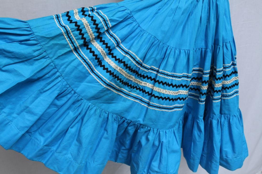 Vintage Lot of 2 1960s Square Dance Skirts - 7