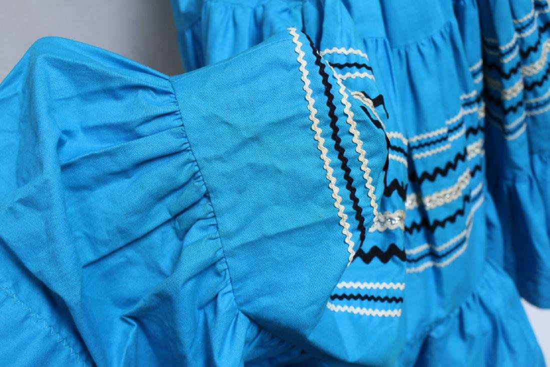 Vintage Lot of 2 1960s Square Dance Skirts - 8