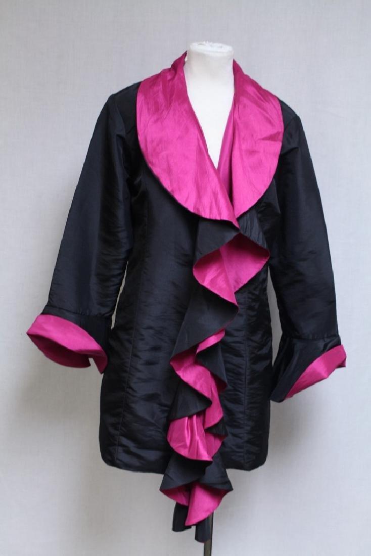 Vintage 2000s Reversible Silk Jacket