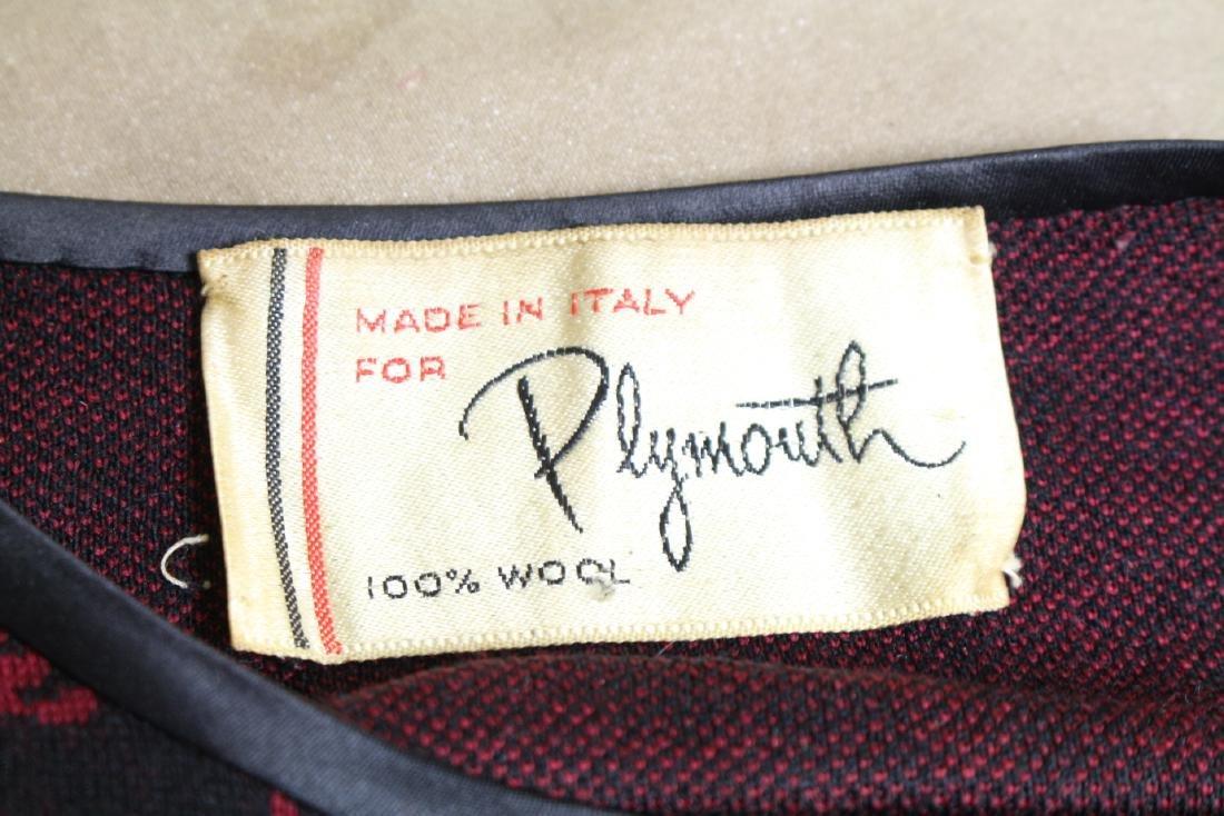 Vintage 1960s Plymouth Italian Wool Suit - 4