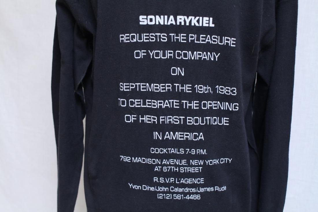 Vintage 1980s Sonia Rykiel Opening Night Invitation - 4