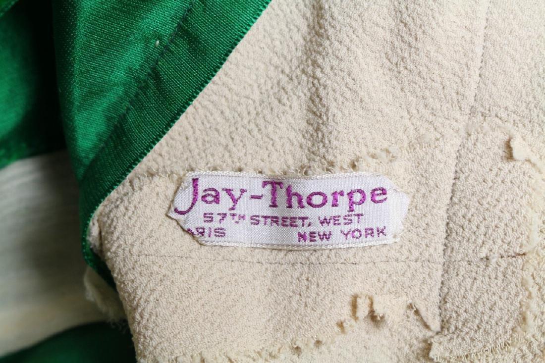 Vintage 1930s Jay Thorpe Crepe Gown - 6