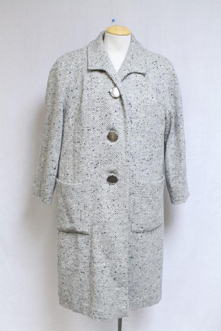 Vintage 1960s Wool Tweed 3 Piece Outfit - 2