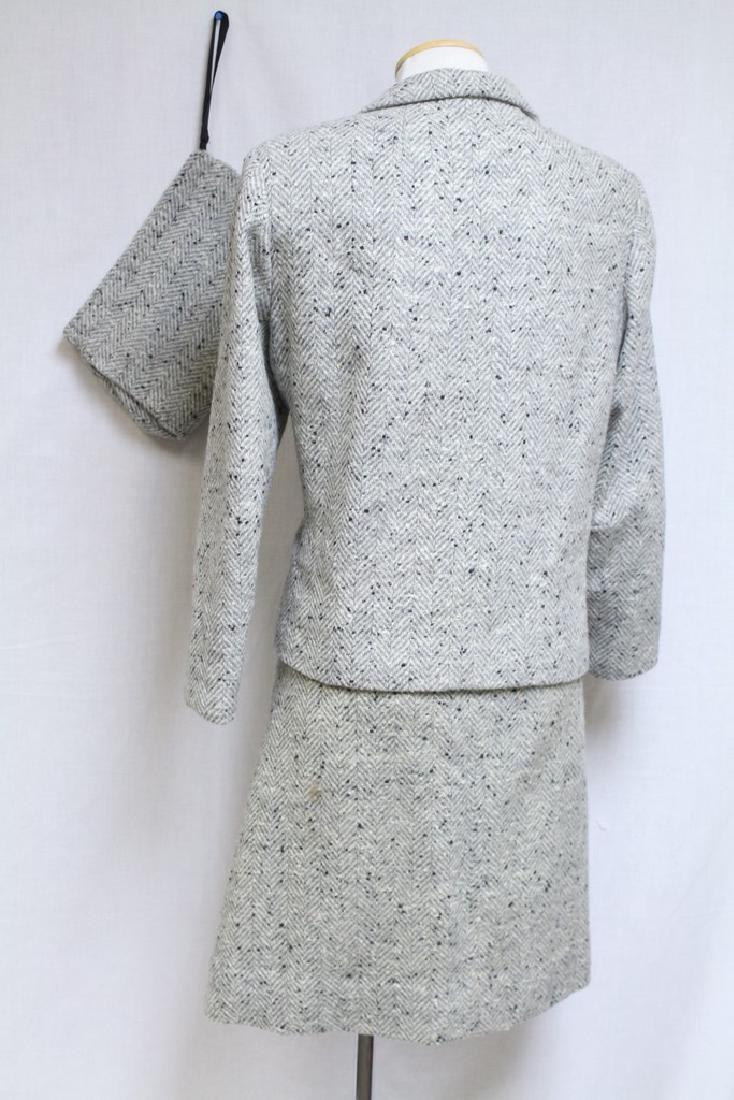 Vintage 1960s Wool Tweed 3 Piece Outfit - 6