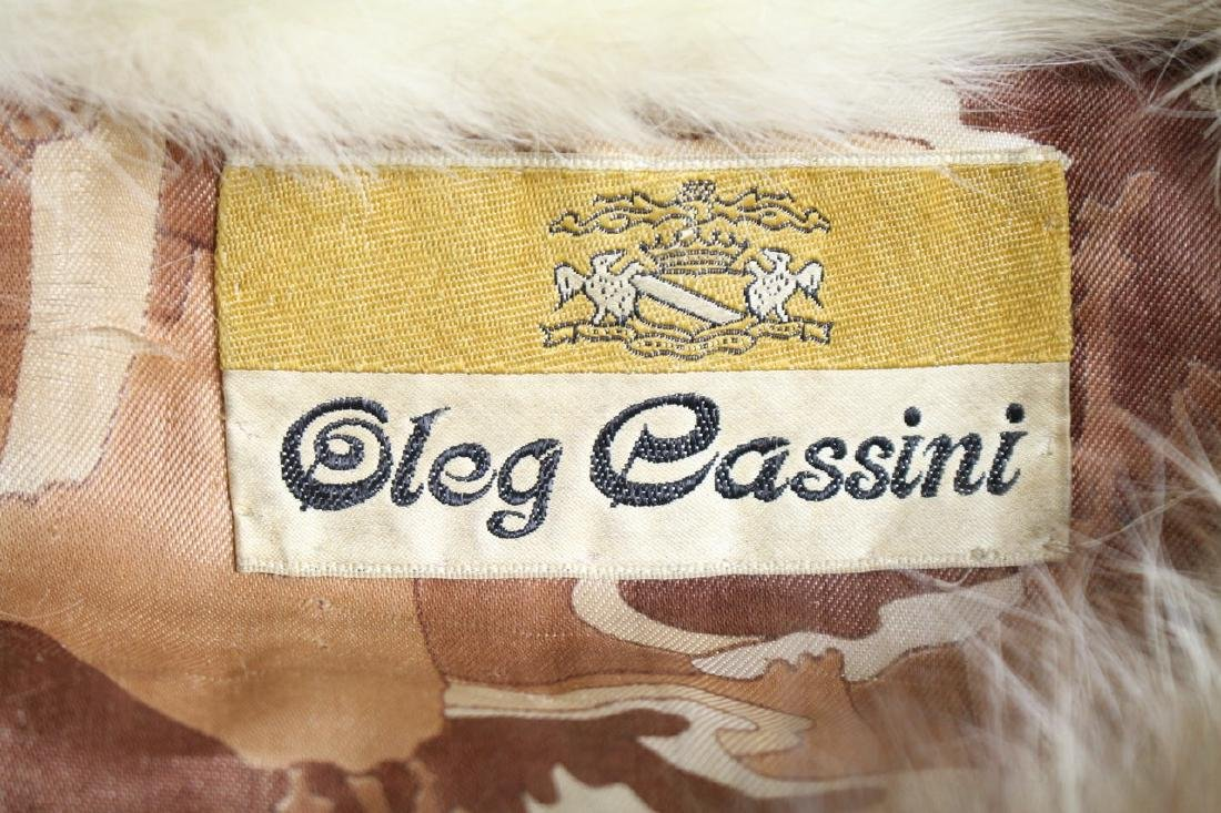 Vintage 1960s Oleg Cassini Fur Coat - 5