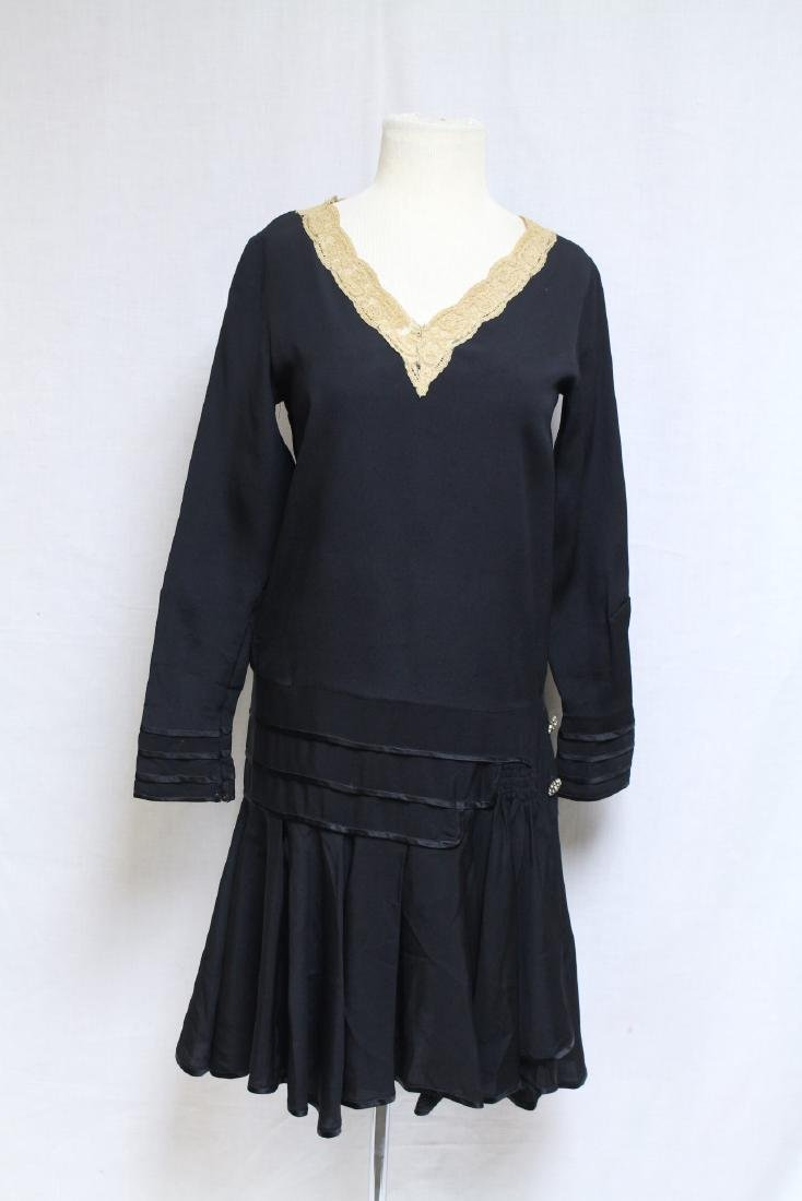 Vintage 1920s Jean Patou Adaptation Dress