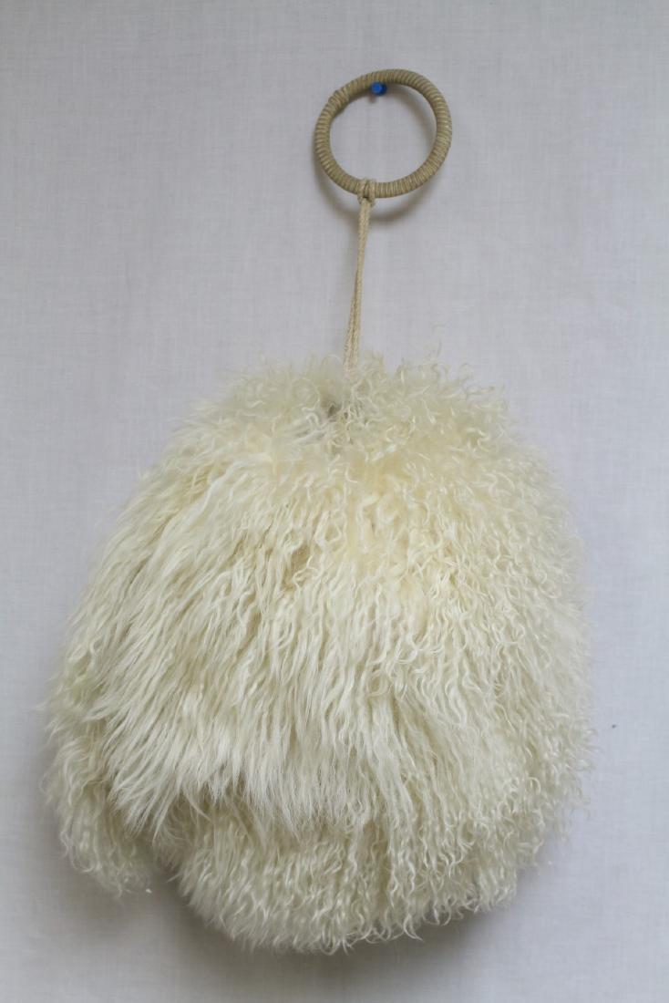 Vintage 1930s Tibetan Lamb Fur Muff & Stole - 4