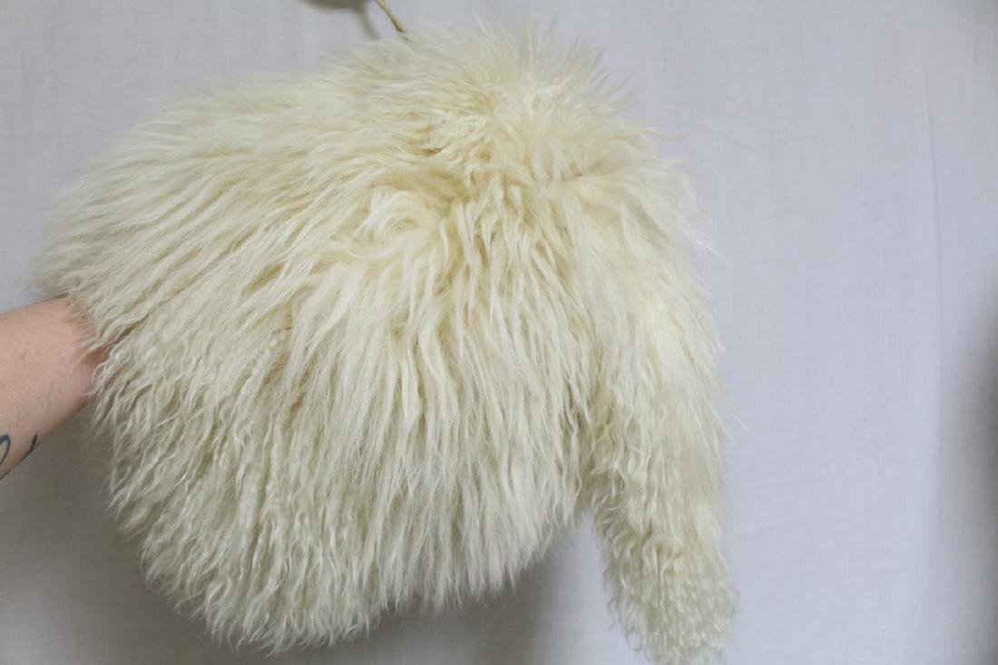 Vintage 1930s Tibetan Lamb Fur Muff & Stole - 5